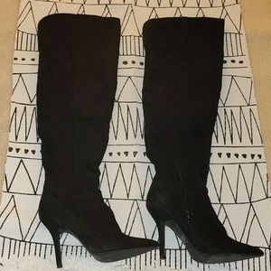 Qupid over the knee boots